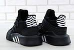 Чоловічі кросівки Adidas EQT Bask ADV (чорні) 11590, фото 9