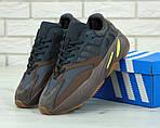 Жіночі кросівки Adidas Yееzy 700 Mauve (темно-сіре з коричневим) 11751, фото 2