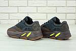 Жіночі кросівки Adidas Yееzy 700 Mauve (темно-сіре з коричневим) 11751, фото 3