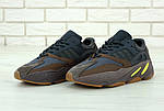 Жіночі кросівки Adidas Yееzy 700 Mauve (темно-сіре з коричневим) 11751, фото 4