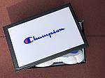 Женские кроссовки Champion (серо-белые с красным) 9569, фото 3