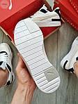 Жіночі кросівки Puma Cali Sport Mix White/Black (чорно-білі) 458GL, фото 3