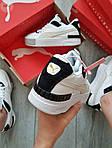 Жіночі кросівки Puma Cali Sport Mix White/Black (чорно-білі) 458GL, фото 8