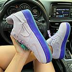 """Жіночі кросівки Nike Air Force 1 LXX """"Purple Agate"""" (фіолетові) C-1929, фото 4"""