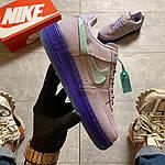 """Жіночі кросівки Nike Air Force 1 LXX """"Purple Agate"""" (фіолетові) C-1929, фото 5"""