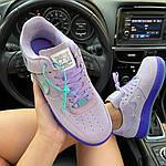 """Жіночі кросівки Nike Air Force 1 LXX """"Purple Agate"""" (фіолетові) C-1929, фото 9"""
