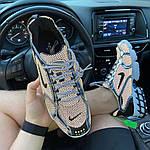 Чоловічі кросівки Nike Air Zoom Spiridon Cage 2 Stussy Pure Platinum Рефлективні (сріблясті) C-1928, фото 10