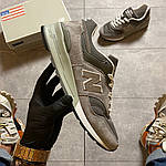 Чоловічі кросівки New Balance 997 Gray (сірі) C-1925, фото 7
