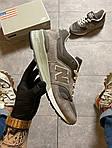 Чоловічі кросівки New Balance 997 Gray (сірі) C-1925, фото 10