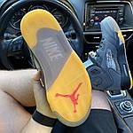 Мужские кроссовки Nike Air Jordan V Retro X Off-White (серые) C-1922, фото 2