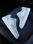 Жіночі кросівки Nike Air Force 1 07 PRM White Beige (біло-чорний) C-1921, фото 8