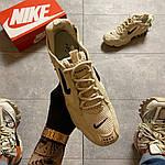 Чоловічі кросівки Nike x Stussy Air Zoom Spiridon Cage 2 (бежеві) C-1918, фото 2