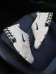 Чоловічі кросівки Nike x Stussy Air Zoom Spiridon Cage 2 (бежеві) C-1918, фото 5