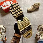Чоловічі кросівки Nike x Stussy Air Zoom Spiridon Cage 2 (бежеві) C-1918, фото 10