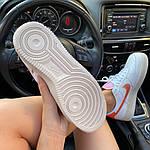 "Жіночі кросівки Nike Air Force 1 Low ""Digital Pink"" Adds Beige Soles (бежеві) C-1915, фото 3"