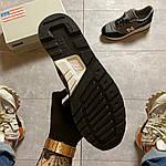 Чоловічі кросівки New Balance 997 Black Gray (чорно-сірі) C-1916, фото 5