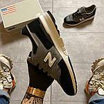 Чоловічі кросівки New Balance 997 Black Gray (чорно-сірі) C-1916, фото 6