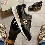 Чоловічі кросівки New Balance 997 Black Gray (чорно-сірі) C-1916, фото 7