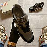Чоловічі кросівки New Balance 997 Black Gray (чорно-сірі) C-1916, фото 8