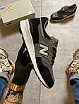 Чоловічі кросівки New Balance 997 Black Gray (чорно-сірі) C-1916, фото 9