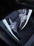 Чоловічі кросівки New Balance 997 Black Gray (чорно-сірі) C-1916, фото 10