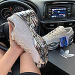 Жіночі кросівки Adidas Raf Simons Rs Ozweego Cream White Silver Metallic C-1914, фото 7