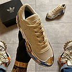 Жіночі кросівки Adidas Raf Simons Rs Ozweego Cream White Silver Metallic C-1914, фото 8