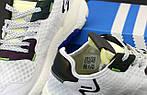 Чоловічі кросівки Adidas Nite Jogger Повний рефлектив (білі) 12173, фото 8