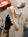 "Жіночі кросівки Nike Air Force 1 Low ""Digital Pink"" Adds Beige Soles (бежеві) C-1915, фото 10"