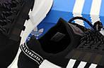 Чоловічі кросівки Adidas NMD R1 V2 Повний рефлектив (чорно-білі) 12174, фото 8
