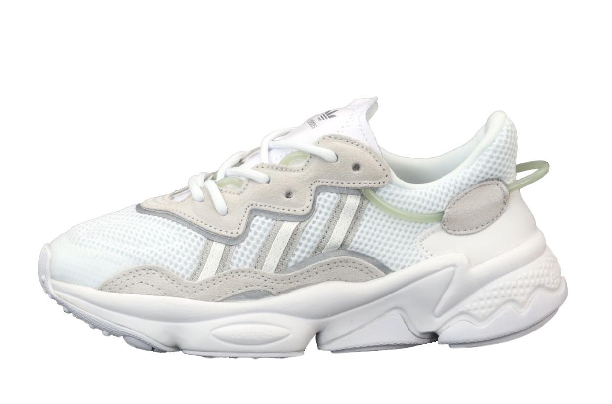 Жіночі кросівки Adidas Ozweego Рефлективні (біло-сірі) 12172