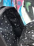 Рюкзак міський Протикрадій (чорно-рожевий) 1256, фото 3