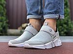 Мужские кроссовки Running (светло-серые с белым) 9573, фото 2