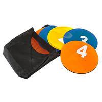 Маркер тренировочный ( набор 5 цветов 10 шт ) + сумка, фото 1