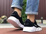 Мужские кроссовки Running (черно-белые) 9577, фото 3