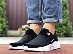 Мужские кроссовки Running (черно-белые) 9577, фото 4