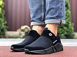 Чоловічі кросівки Running (чорні) 9578, фото 3