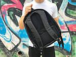 Городской рюкзак Антивор (черно-розовый) 1256, фото 2