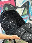 Городской рюкзак Антивор (черно-розовый) 1256, фото 4