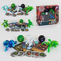 Игровой набор Bakugan Battle planet - Фигурки трансформеры Бакуган 5шт. scn