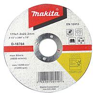 Makita D-18792 230x2,0x22,2 мм Отрезной диск по нержавеющей стали