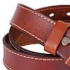 Ремень кожаный de esse женский Светло-коричневый, фото 2