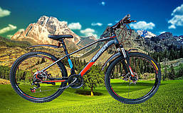 Велосипед горный 26 дюймов 16 рама Азимут Gemini с переключателями Шимано