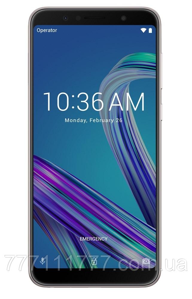 Смартфон асус с большим дисплеем, мощной батареей на 2 сим карты Asus ZenFone Max Pro M1 ZB602KL 3/32Gb black