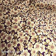 56014 Винажная с золотом. Ткань с позолотой для изделий ручной работы и лоскутного шитья., фото 3