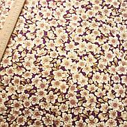 56014 Винажная с золотом. Ткань с позолотой для изделий ручной работы и лоскутного шитья., фото 2