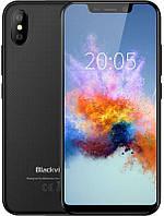 Смартфон блеквью черный с большим дисплеем и двойной камерой на 2 сим карты Blackview A30 black
