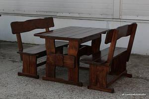 Деревянная мебель из массива дерева фото