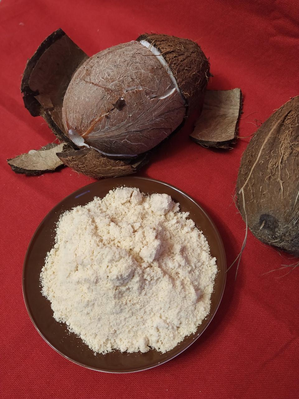 Кокосовая мука ЭКО белая  1,0 кг Индонезия