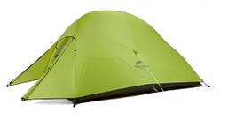 Палатка Naturehike Cloud UP I (1-х местная) 20D silicone + footprint NH15T001-T зеленый (NH)